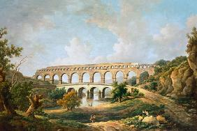Marlow, William : The Pont du Gard, Nimes