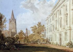 Turner, William : View of Christ Church Cath...