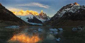 Morning Light at Cerro Torre
